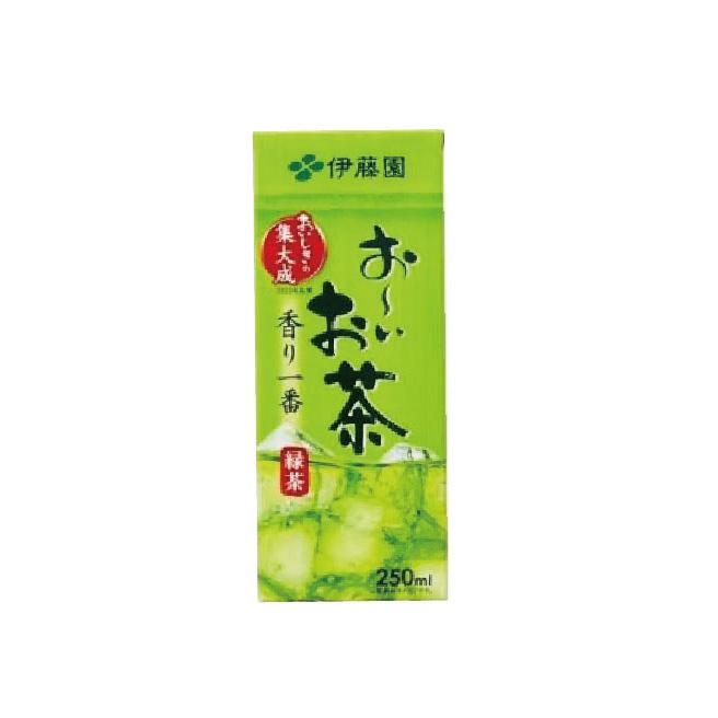 伊藤園お茶250㎖(紙パック)