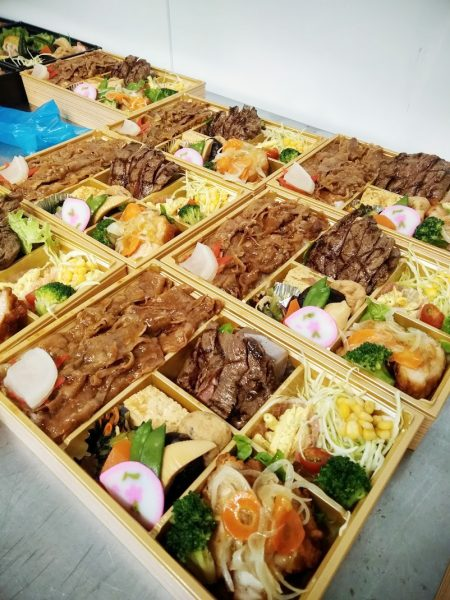 ステーキ&焼肉の肉好きお弁当!